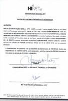 Aditivo ao Contrato de Prestações de Serviços - Hinet