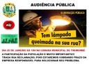 Audiência Pública - ILUMINAÇÃO PÚBLICA