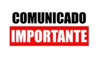 Comunicado: expediente excepcional em 31/07/18