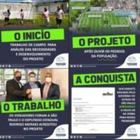 Conquista: 350 mil para revitalização do estádio do Tufa