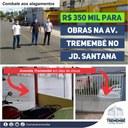 Conquista: R$350 mil para obras contra enchentes e alagamentos na Avenida Tremembé