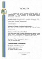 Convite: Sessão Solene - 26 de novembro