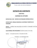 Extrato de Contrato - CIEE