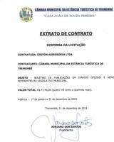 Extrato de Contrato - GRIFON