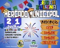 Festa Julina no Mercado Municipal de Tremembé