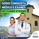Godoi conquista médico e exames para o bairro do Padre Eterno