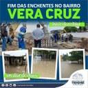 Início das obras contra enchentes no Vera Cruz