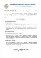 Pauta da 123ª Sessão Ordinária - 10/02/2020