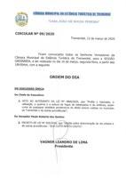 Pauta da 128ª Sessão Ordinária - 16/03/2020