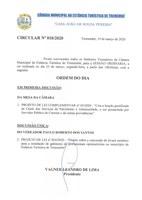 Pauta da 129ª Sessão Ordinária - 23/03/2020