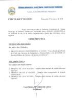 Pauta da 130ª - Sessão Ordinária - 30-03-2020