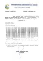 Pauta da 137ª Sessão Ordinária - 18/05/2020