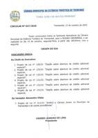 Pauta da 155ª Sessão Ordinária - 19/10/2020