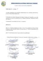 PORTARIA N° 033/2016 – ALTERAÇÃO DO HORÁRIO DAS SESSÕES ORDINÁRIAS DOS DIAS 13, 20 e 27 DE SETEMBRO.