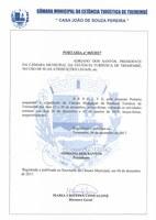 Portaria n° 065-2017 - Suspensão de Expedientes