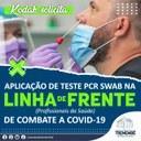 """Teste PCR """"Swab"""" para profissionais de saúde"""