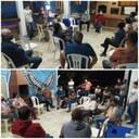 Vereadores e população juntos no Recanto São Luiz