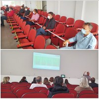 Vereadores participam da reunião do Comitê de Enfrentamento a Covid-19